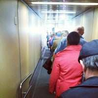 Photo taken at Gate B10 by Aaron E. on 10/20/2012