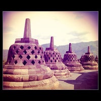 Photo taken at Borobudur Temple by Ryant A. on 4/24/2013