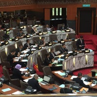 Photo taken at Dewan Undangan Negeri Selangor by Malique R. on 11/11/2015