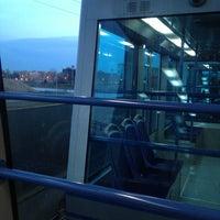 Photo taken at Metro Automatica Osp. S. Raffaele by MeandGi F. on 3/19/2013