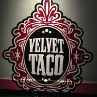 Photo taken at Velvet Taco by Joe R. on 10/18/2012