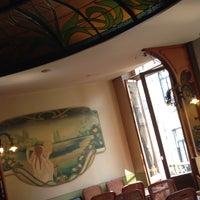 Photo taken at La Porteuse d'Eau by Gwenda v. on 8/13/2015