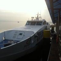Photo taken at Berjaya Waterfront Ferry Terminal by Abdullah Zawawi A. on 4/7/2013