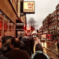 Photo taken at The Vic Theatre by Ben D. on 4/23/2013