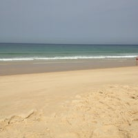Photo taken at Praia do Pego by André P. on 8/22/2013