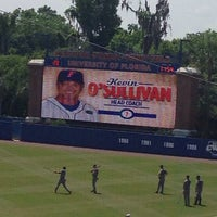 Photo taken at McKethan Stadium at Perry Field by Ralph on 4/27/2014