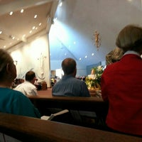 Photo taken at Sacred Heart Church by Brad B. on 3/31/2013
