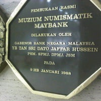 Muzium Numismatik (numismatic Museum)