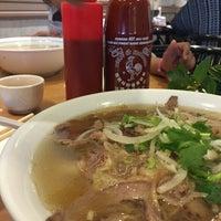 Photo taken at Pho Dau Bo Restaurant by Choorocca on 5/12/2016