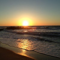Photo taken at Manasquan Beach by Elizabeth D. on 5/2/2013