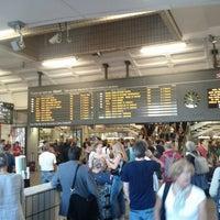 Photo taken at Station Gare Part-Dieu [T1] by Zhenhua Y. on 7/8/2013