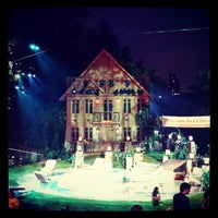 Photo taken at Delacorte Theater by Martha G. on 8/9/2013