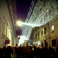 Photo taken at Via del Corso by Francesca B. on 1/1/2013
