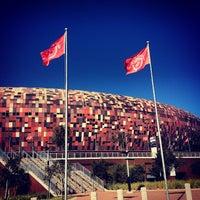 Photo taken at FNB Stadium by GlynnЯyan on 4/26/2013