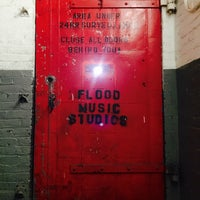 Photo taken at Flood Music Studios by Shawna C. on 5/13/2015
