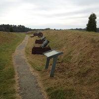 Photo taken at Yorktown Battlefield National Park by Tim F. on 10/1/2012