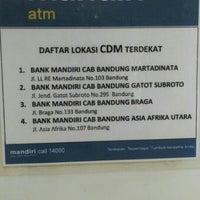 Photo taken at Bank Mandiri by mukhlis j. on 4/11/2016