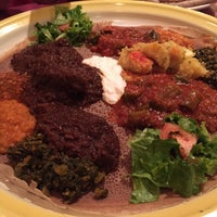 Photo taken at Assab Eritrean Restaurant by Anna H. on 1/13/2015