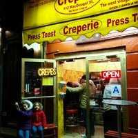 Photo taken at Creperie NYC by Rami A. on 11/16/2014