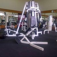 Photo taken at TechnoFlex Gym & Fitness Club by John W. on 10/14/2013