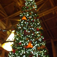 Photo taken at Disney's Wilderness Lodge by michele m. on 12/31/2012