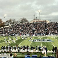 Photo taken at Foreman Field at S.B. Ballard Stadium by Bevan C. on 12/8/2012