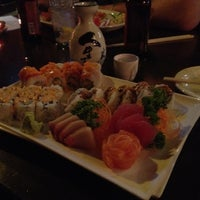 Photo taken at Sushi On The Rocks by Nathan R. on 2/28/2012