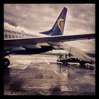 Photo taken at Il Caravaggio International Airport (BGY) by Matteo M. on 4/20/2013