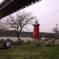 Photo taken at Little Red Lighthouse by Helen F. on 4/28/2013