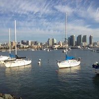 Photo taken at San Diego Harbor by Ilana R. on 11/1/2012