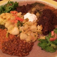Photo taken at Assab Eritrean Restaurant by shaBOinken (. on 11/15/2014