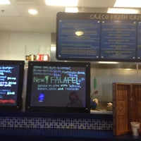Photo taken at Greco Fresh Grille by Melisa C. on 8/12/2014