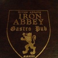 Photo taken at Iron Abbey by Brandan N. on 5/11/2013