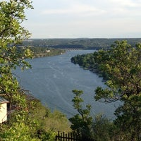 Photo taken at Covert Park at Mt. Bonnell by Janie A. on 7/19/2013