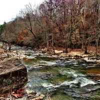 Photo taken at Chattahoochee River NRA - Sope Creek by Mark L. on 12/28/2012