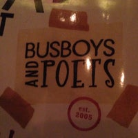 Photo taken at Busboys and Poets by Antonio V. on 10/4/2013