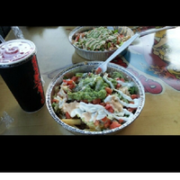 Photo taken at Chronic Tacos by Richard R. on 4/12/2015