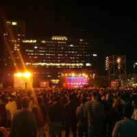 Photo taken at Rabin Square by David J. on 4/14/2013