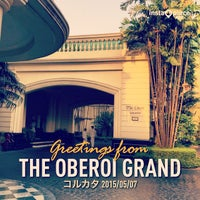 Photo taken at The Oberoi Grand by Tak S. on 5/7/2015