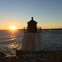 Photo taken at Castle Hill Lighthouse by Carlos G. on 10/23/2016