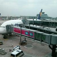 Photo taken at Lufthansa Flight LH 440 by Vittya V. on 3/15/2014