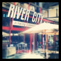Photo taken at River City Brewing Company by Jonas W. on 10/17/2012