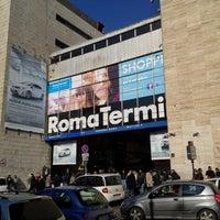 Photo taken at Roma Termini Railway Station (XRJ) by Saad O. on 1/27/2013