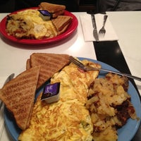 Photo taken at Pamela's P&G Diner by Ohh on 3/16/2012