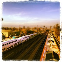 Photo taken at Metrolink Riverside-Downtown Station by Sean K. on 4/18/2012