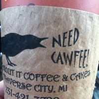 Photo taken at Crow About It Coffee & Cakes by Angel P. on 6/17/2012