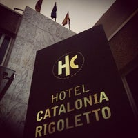Photo taken at Hotel Catalonia Rigoletto **** by Sergei M. on 9/6/2012