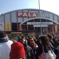Photo taken at PalaBAM by Tobia B. on 2/25/2012