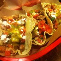Photo taken at Dos Toros Taqueria by Andrew S. on 4/12/2012
