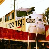 Photo taken at Victory Station (DART Rail / TRE) by dane k. on 5/3/2012